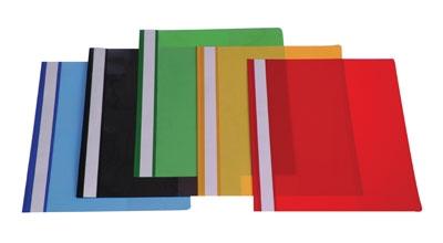 תיק הגשה צבעוני 10 יח
