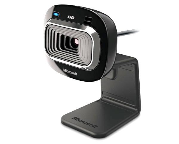 מצלמת אינטרנט Microsoft LifeCam HD-3000 USB