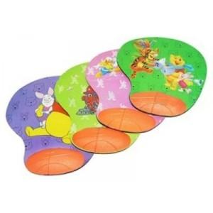 שטיח לעכבר עם כרית סיליקון עם ציורים לילדים Disney