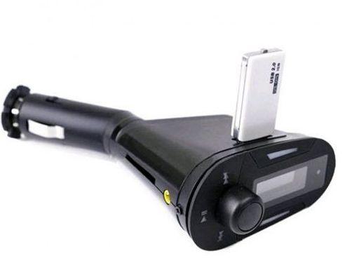 משדר FM - MP3 לרכב + שלט  USB\MP3\WMA