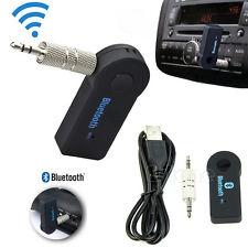 משדר Bluetooth מסוללרי למכשירים בעלי כניסה aux ( רדיודיסק וטייפ ברכב , בידורית , טלוויזיה ועד)
