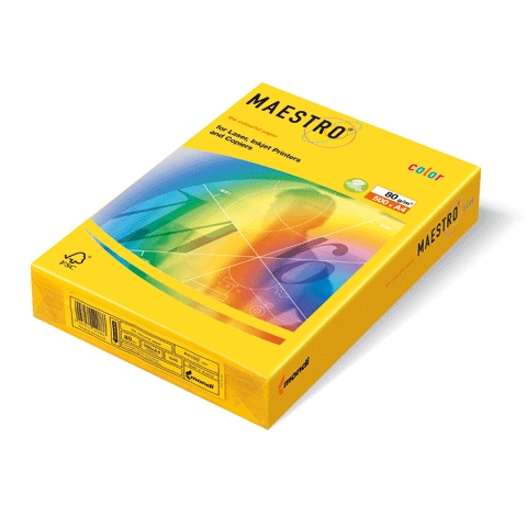 נייר למדפסת גר.80  A-4  למדפסת , 200 דף ,צבע צהוב