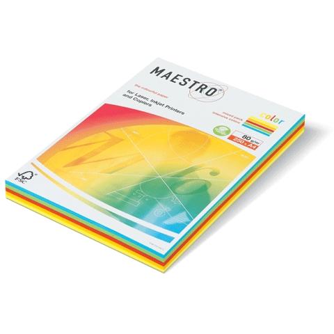 נייר למדפסת גר.240  A-4  למדפסת , 100 דף ,5 צבעים