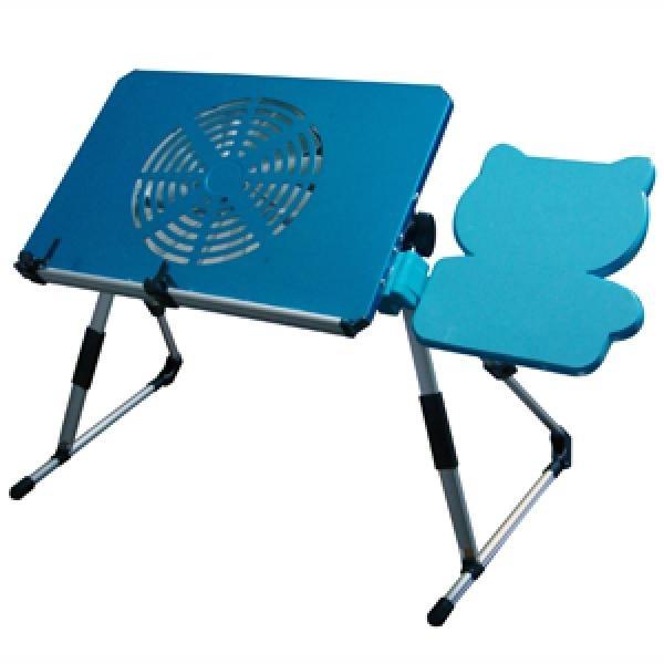 שולחן מתקפל למחשב נייד+קירור+תוםפות