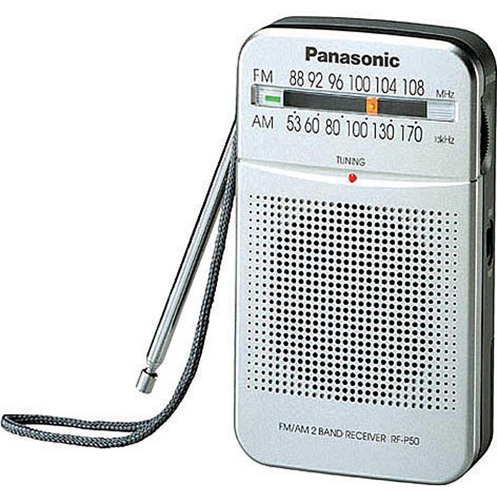 רדיו - טרנזיסטור קטן וחזק AM\FM  RF-P50 PANASONIC