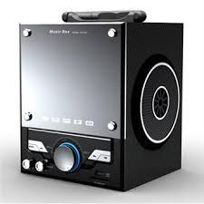 רמקול נתן SAHARA MP3 / USB / כרטיס SD / FM נייד Digital Player.-ZA-2501