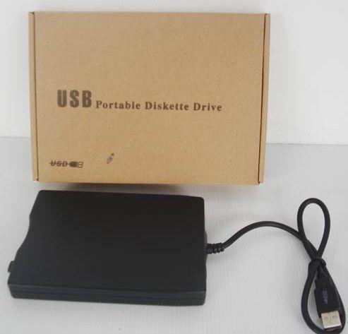 צורב לפלופי דיסקים חיצוני דק במיחד  USB