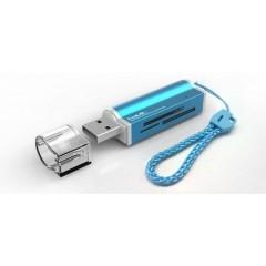קורא כרטיסים אוניברסלים HAVIT HV-C26 USB 2