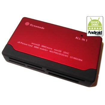 קורא כרטיסים מהודר  CR-6P  Dynamode USB2