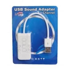 כרטיס קול חיצוני - מתאם Lead 8.1 USB 2