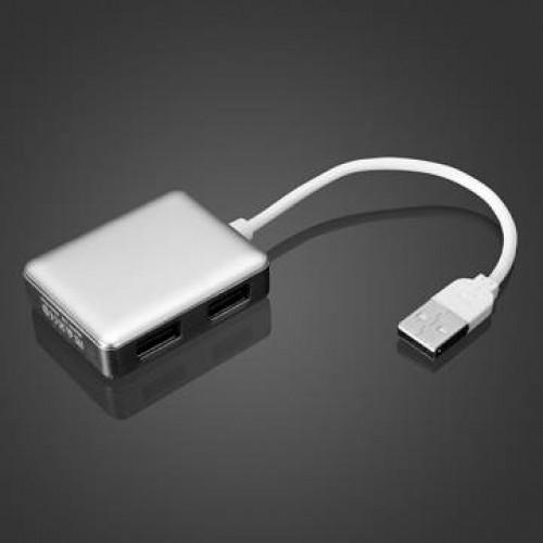 מפצל USB 2.0 עם 4 כניסות SY-H20 . עשוי ממתכת
