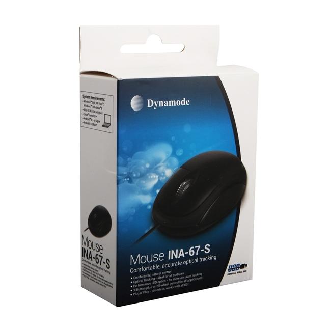 עכבר אופטי Dynamode INA-67-S USB2