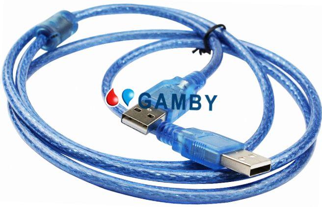 כבל USB - USB מי 3 (זכר/זכר)