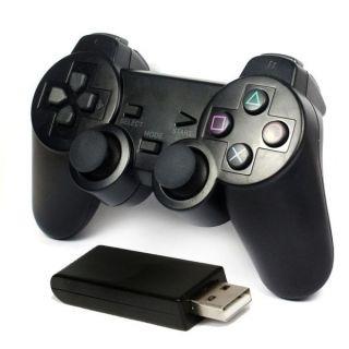 ג'ויסטיק אלחוטי USB-2 למשחקי מחשב LAVA GLOW  Pc Wireles Joypad 2.4GHz USB