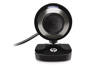 מצלמת אינטרנט עם מיקרופון ,קליפס , HP Webcam HD-2200  USB2