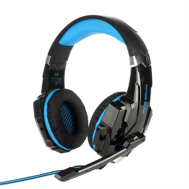 אוזניות מחשב לגיימרים ( למסחקי מחשב ) עם מיקרופון G9000 stereo Kotion Each HI-Fi
