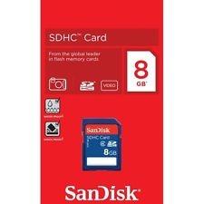 כרטיס זיכרון  SDHC 8Gb SanDisk