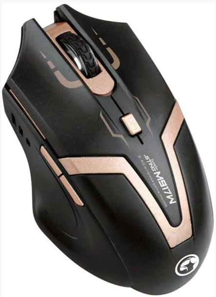 עכבר משחקים אלחוטי ( לגיימרים ומקצוענים ) 2.4G MARVO - Sting  M917W