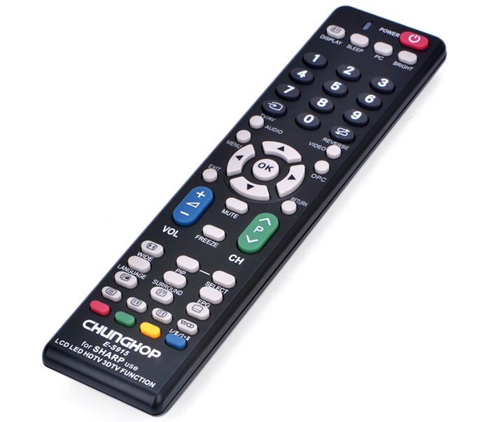 שלט רחוק אוניברסלי כל סוג טלוויזיות סמסונג PLASMA/ LCD/LED/HDTV/3DTV/SMART TV SHARP