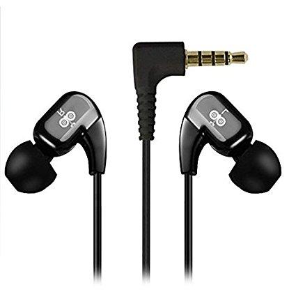 אוזניות מקוריות מסיליקון , מעטפת  עם מיקרופון  3.5 מ Jabees WE102 M