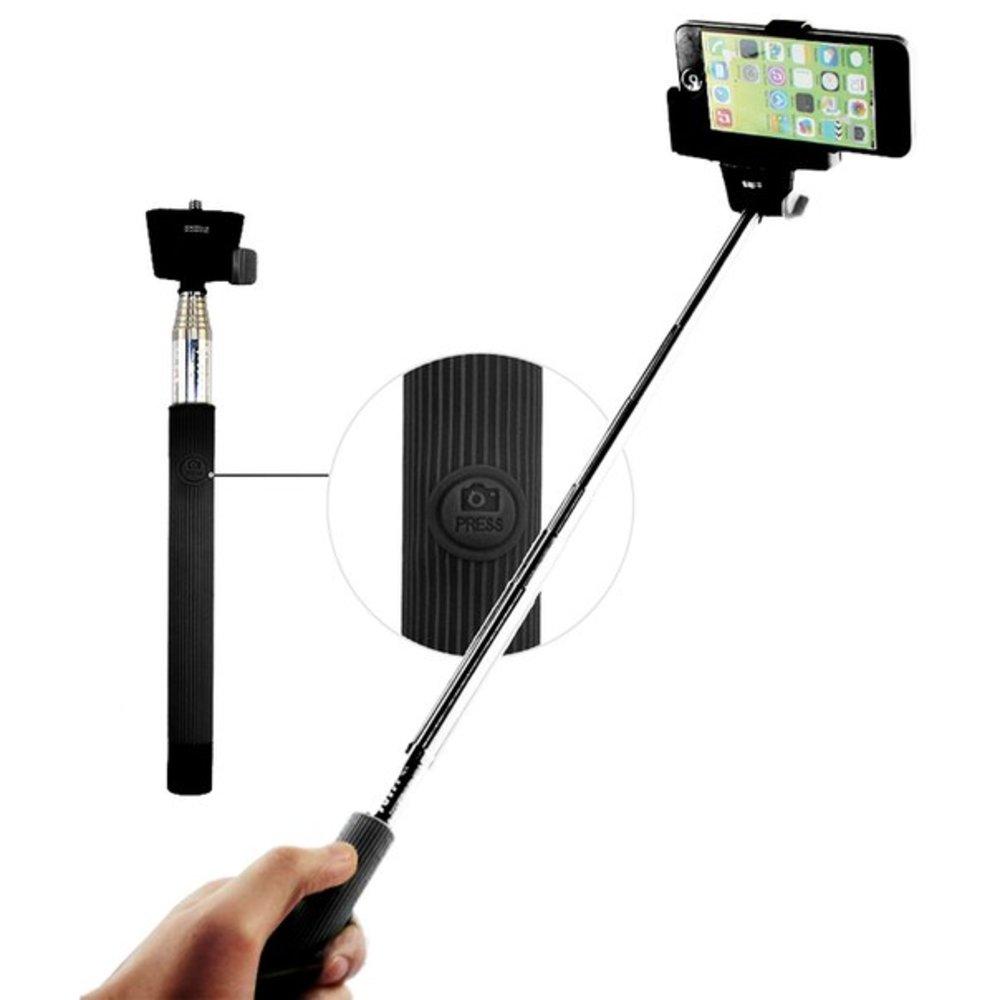 חצובה סלפי מונופוד לסמארטפונים אנדרואיד ואייפון Bluetooth Z07-5