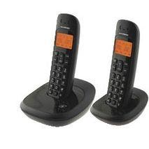טלפון שולחני אלחוטי כפול ,חיוג חוזר,בקרת צילצול,סיחה מזוהה,דיבורית DECT HDT-L50TWB HYUNDAI