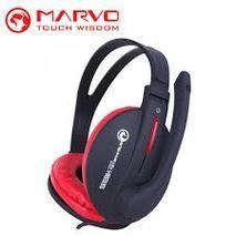 אוזניות מחשב לגיימרים ( למשחקי מחשב ) עם מיקרופון - HI-Fi Stereo Heandphone H8312 MARVO