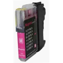 Brother LC980M /  LC1100 Magenta compatible inkjet cartridge