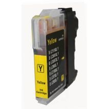 Compatible inkjet cartridge Brother LC980 Y / LC1100 (Yellow)