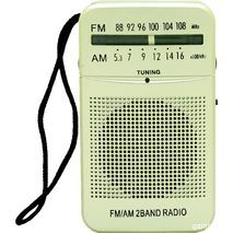 Транзисторный приемник AM\FM , маленький и мощный SAKAL
