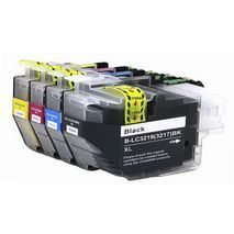 B-LC 3219 / 3217 XL CMYK  Set Compatible Inkjet Cartridge Brother