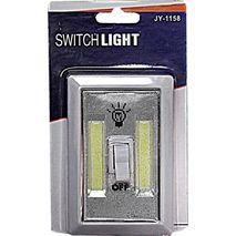 מנורת  לילה , תליה  , הפעלה כפתור , שתי פסי לד סוללולת . חזקה מאוד