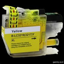 Brother LC79/400/450/1220/1240/1280Y Yellow compatible inkjet cartridge