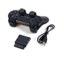 אלחוטי ג'ויסטיק תואם לסוני פלייסטייש 3\2 ולמחשב ( USB2 2.4Ghz (Sony Playstation 2/3 and PC