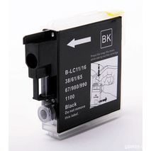 Compatible inkjet cartridge Brother LC980 Bk / LC1100 (Black)