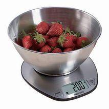 משקל מטבח דיגיטלי מפואר למזון נוזלי ויבש מנירוסטה HYUNDAI HASC-4350