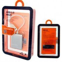 מפצל USB 2.0 עם 4 כניסות SY-H20