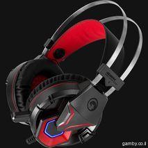 אוזניות מחשב לגיימרים  PC ,  סיני פליסטיישן  4 PS וגם ל XBOX ONE עם מיקרופון HG8914 MARVO - Scorpion Unicorn stereo HI-Fi