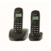 Настольный беспроводный  телефон   с определителем номера и памятью  DECT HDT-L140BTW HYUNDAI