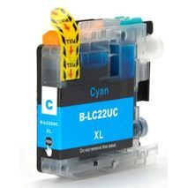 Brother LC22U C  XL Cyan Сompatible Ink Cartridge