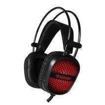 אוזניות מחשב לגיימרים ( למסחקי מחשב ) עם מיקרופון  HG8941 MARVO  - Scorpion Unicorn stereo HI-Fi + תאורה לד