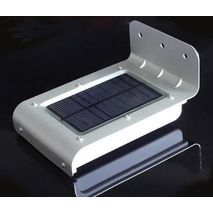 LED wall lamp with solar panel, energy storage and motion sensor For the garden and courtyard.