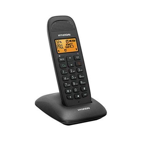 Бесповодный  телефон с определителем номера, памятью, громкой связью,  тонкий HDT-L140B  HYUNDAI
