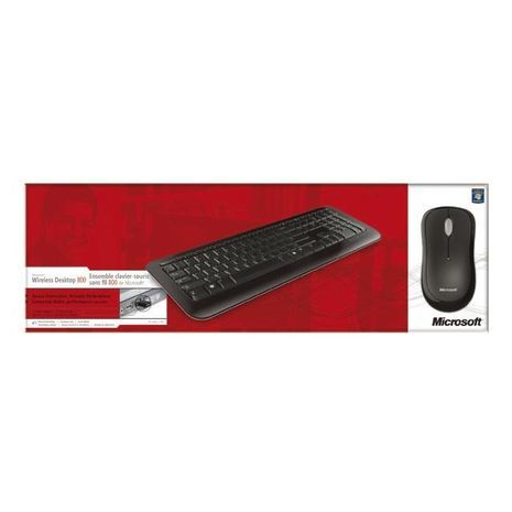 Беспроводная мультимедийная клавиатура+ мышь USB Иврит- английский  Microsoft Wirles Desktop 800