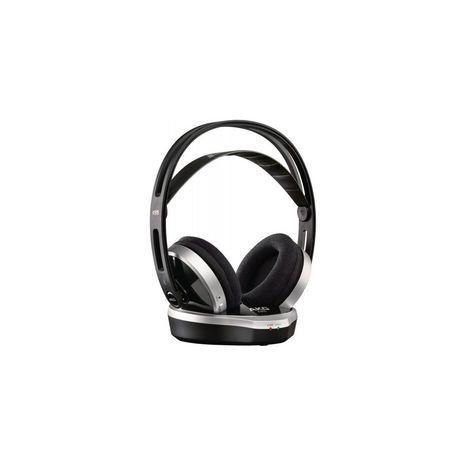 אוזניות אלחוטיות לטלוויזיה ולמחשב stereo עם בסיס חשמלי AKG K915