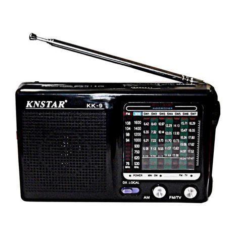 טרנזיסטור רדיו AM\FM , קומפקטי וחזק KK9 KNSTAR