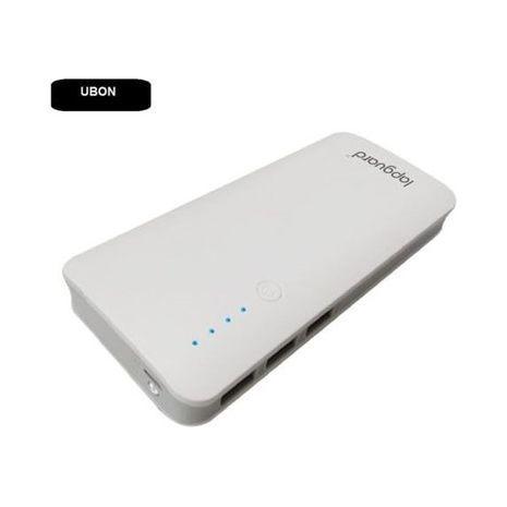 סוללת גיבוי 10000mAh לכל סוג סמארטפון ,פלפון וטאבלט עם חיבורים בקומפלת, לאטנה 2 מכשירים באותו זמן LMS Data RBK-10000-B