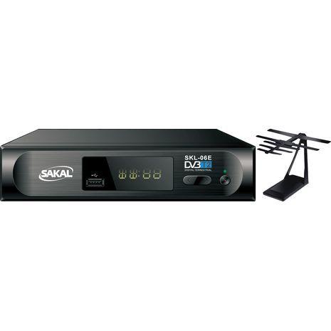 ממיר כבלים דיגיטליים ורדיו קרקיים עידן פלוס DVB-T2 Full HD SAKAL SKL-06