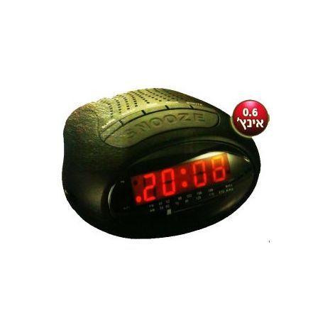 SKL -2630 שעון מעורר דיגיטלי חשמלי עם רדיו Sakal  AM/FM display 0.6