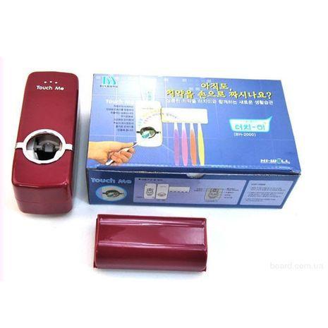 Автоматический дозатор для зубной пасты и держатель для щеток